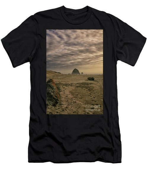 Haystack Rock Men's T-Shirt (Athletic Fit)