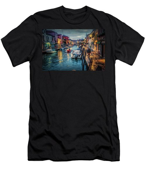 Heading For Home. Men's T-Shirt (Slim Fit) by Brian Tarr