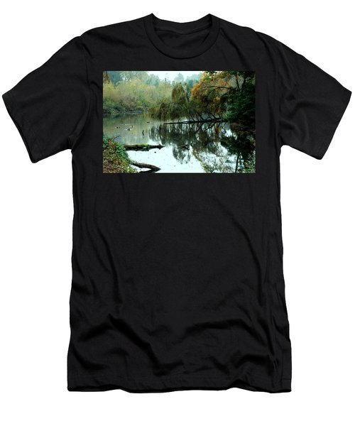 Hidden Lake Men's T-Shirt (Athletic Fit)