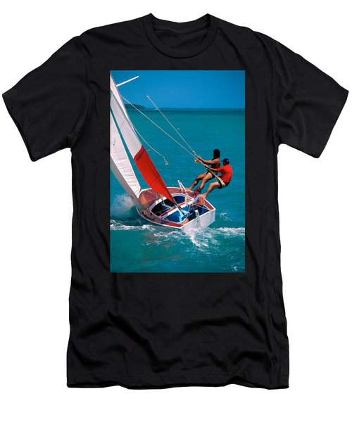 Hiked Out Men's T-Shirt (Athletic Fit)