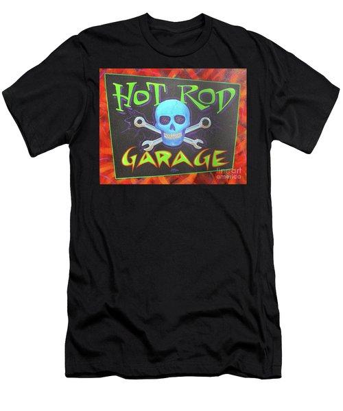 Hot Rod Garage Men's T-Shirt (Athletic Fit)