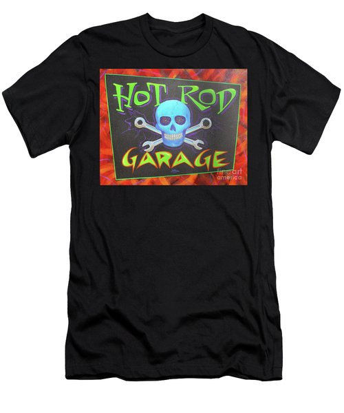 Hot Rod Garage Men's T-Shirt (Athletic Fit)