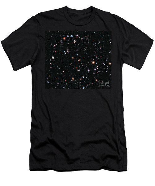 Hubble Extreme Deep Field Men's T-Shirt (Athletic Fit)