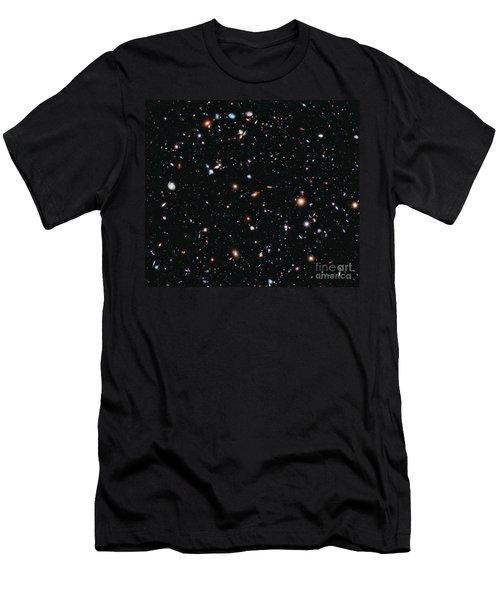 Hubble Extreme Deep Field Men's T-Shirt (Athletic Fit)