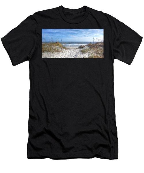 Huntington Beach South Carolina Men's T-Shirt (Athletic Fit)