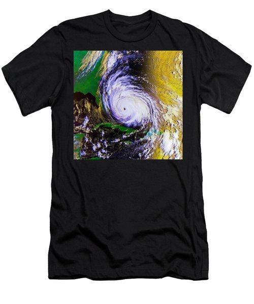 Hurricane Floyd   Men's T-Shirt (Athletic Fit)