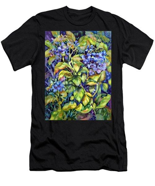 Hydrangea Men's T-Shirt (Athletic Fit)