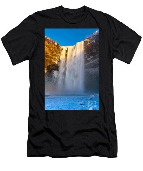 Men's T-Shirt (Slim Fit) featuring the photograph Iceland  by Mariusz Czajkowski