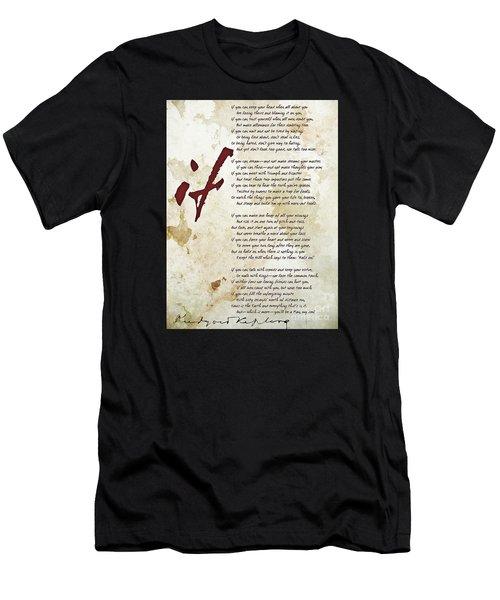 IF Men's T-Shirt (Athletic Fit)
