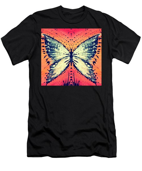 Men's T-Shirt (Athletic Fit) featuring the painting In Flight by 'REA' Gallery