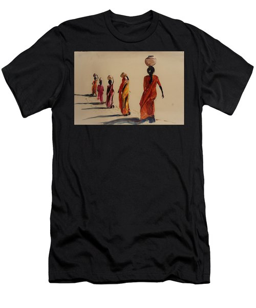 In Search Of Water. Men's T-Shirt (Athletic Fit)