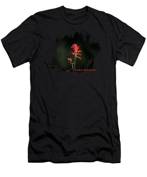 Indian Paintbrush 4 Men's T-Shirt (Athletic Fit)