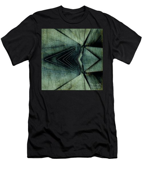 Industrial Bridge Grey Men's T-Shirt (Athletic Fit)