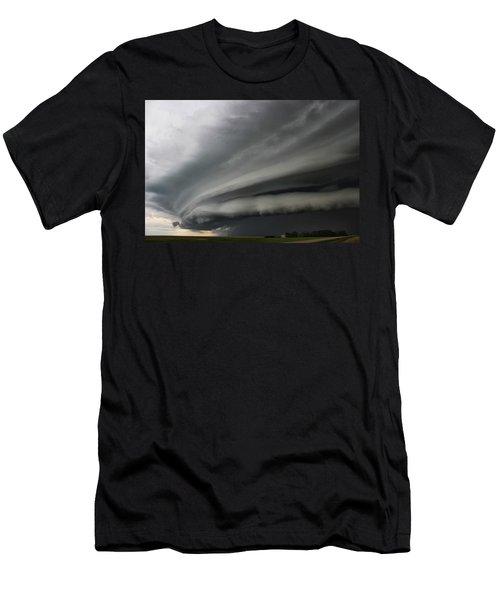Intense Shelf Cloud Men's T-Shirt (Athletic Fit)