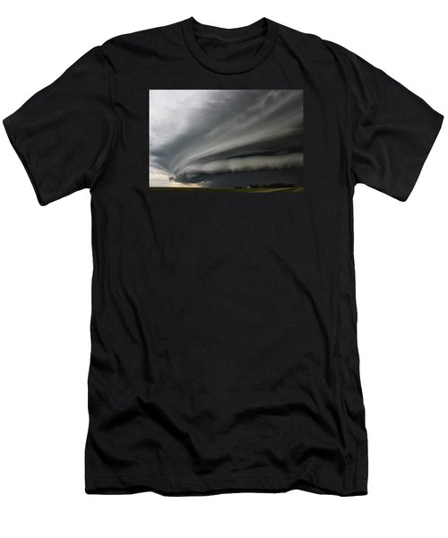 Intense Shelf Cloud Men's T-Shirt (Athletic Fit)