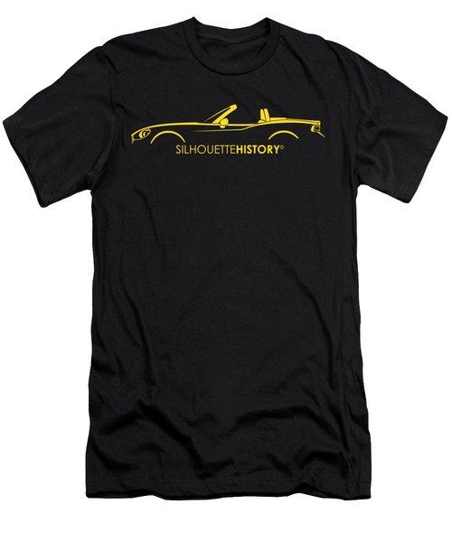 Italian Roadster Silhouettehistory Men's T-Shirt (Athletic Fit)