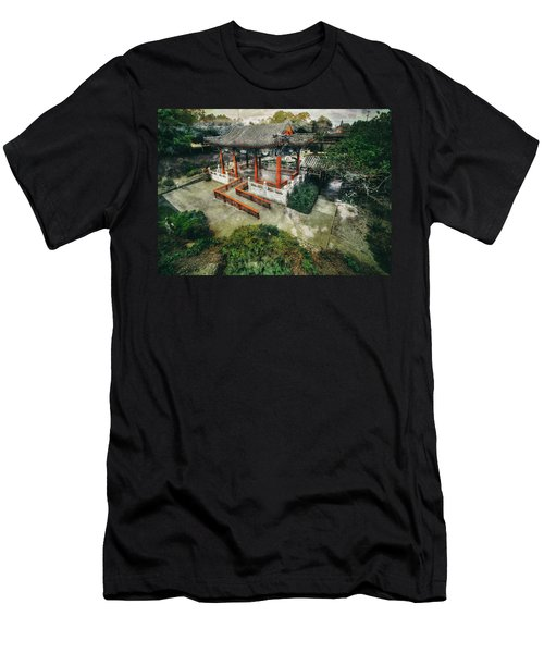 Men's T-Shirt (Slim Fit) featuring the photograph Jade Garden by Wayne Sherriff
