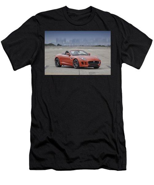 Jaguar F-type Convertible Men's T-Shirt (Athletic Fit)