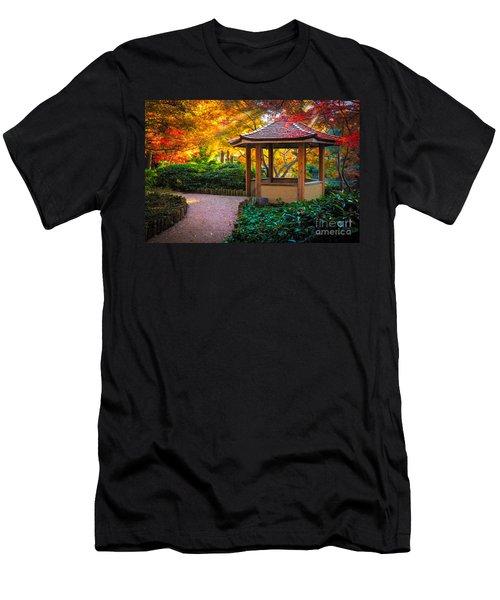 Japanese Gazebo Men's T-Shirt (Athletic Fit)