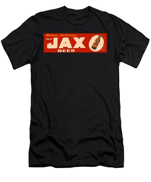 Jax Beer Of New Orleans Men's T-Shirt (Slim Fit) by Saundra Myles