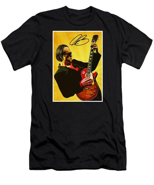 Joe Bonamassa Men's T-Shirt (Slim Fit) by Semih Yurdabak