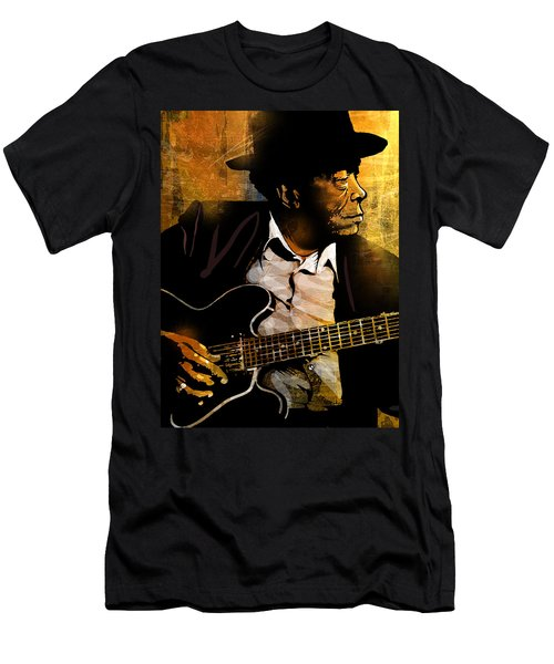 John Lee Hooker Men's T-Shirt (Athletic Fit)