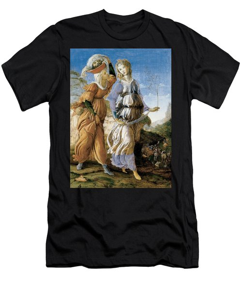 Judith With The Head Of Holofernes Men's T-Shirt (Athletic Fit)