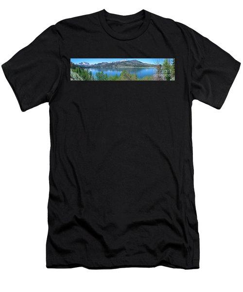 June Lake Panorama Men's T-Shirt (Athletic Fit)