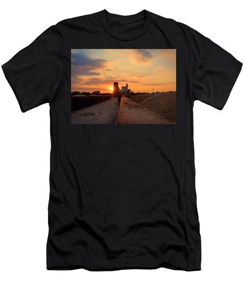 Katy Texas Sunset Men's T-Shirt (Athletic Fit)