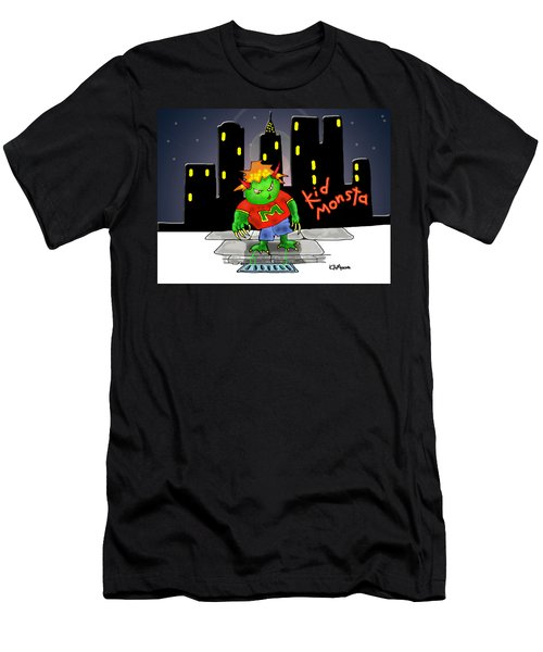 Kidmonsta Men's T-Shirt (Athletic Fit)