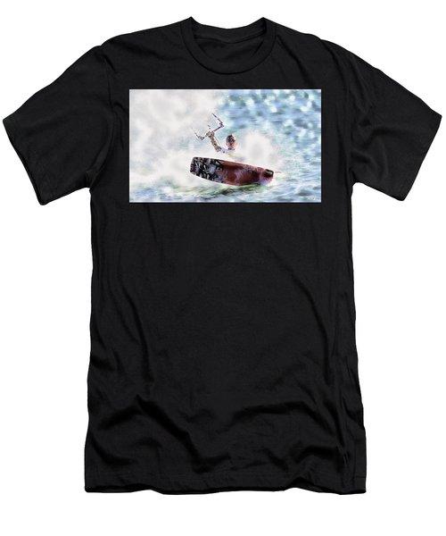 Kitesurf  Men's T-Shirt (Athletic Fit)