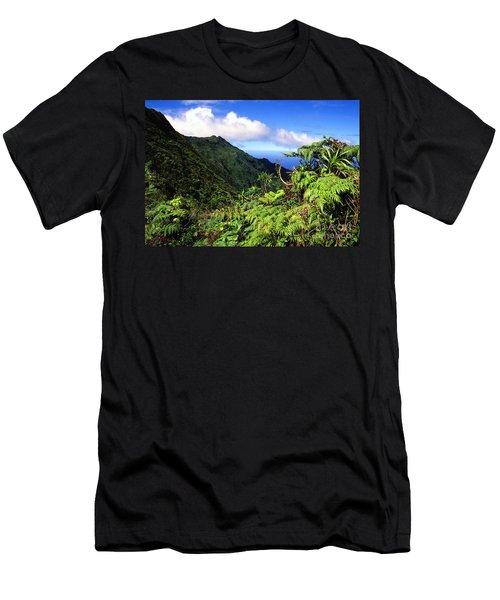 Koolau Summit Trail Men's T-Shirt (Athletic Fit)