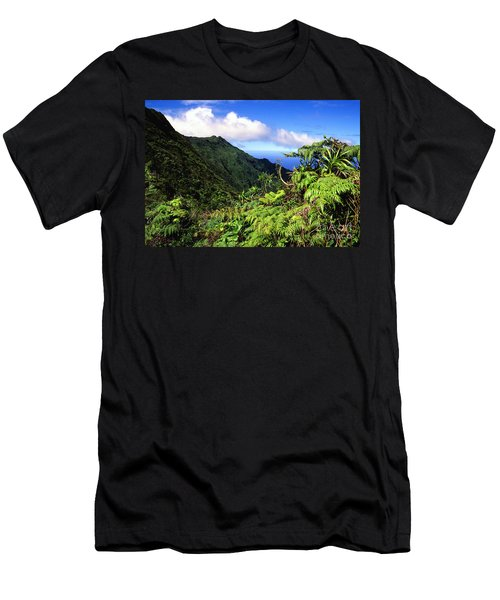 Koolau Summit Trail Men's T-Shirt (Athletic Fit)