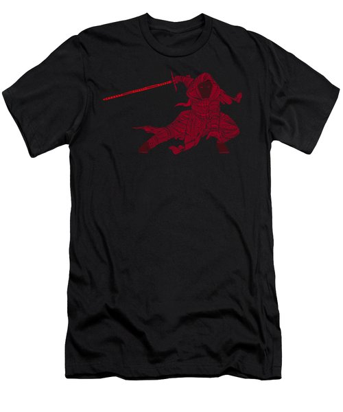 Kylo Ren - Star Wars Art - Red Men's T-Shirt (Athletic Fit)