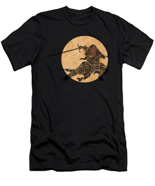 Kylo Ren - Star Wars Art Men's T-Shirt (Athletic Fit)