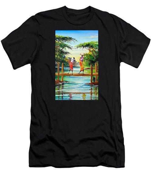 L 115 Men's T-Shirt (Athletic Fit)