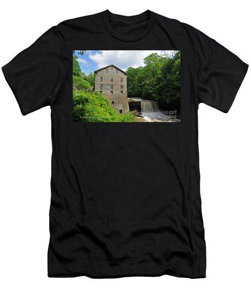 D9e-28 Lantermans Mill Photo Men's T-Shirt (Athletic Fit)