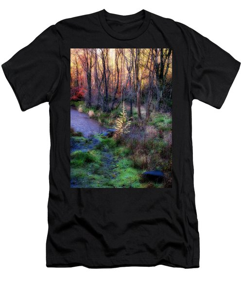 Men's T-Shirt (Athletic Fit) featuring the photograph Last Days Of Autumn by Jeremy Lavender Photography
