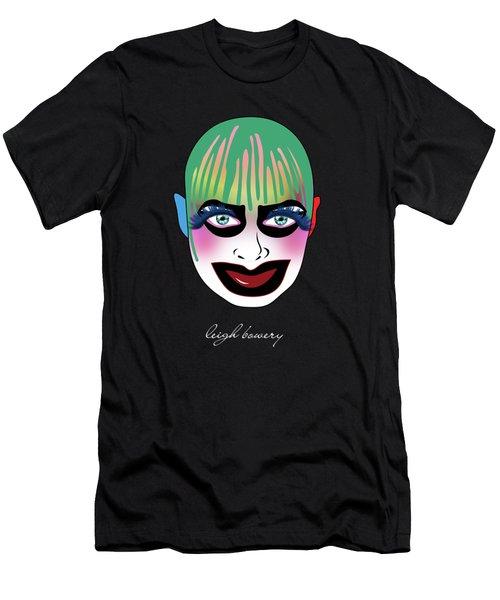 Leigh Bowery 5 Men's T-Shirt (Slim Fit) by Mark Ashkenazi