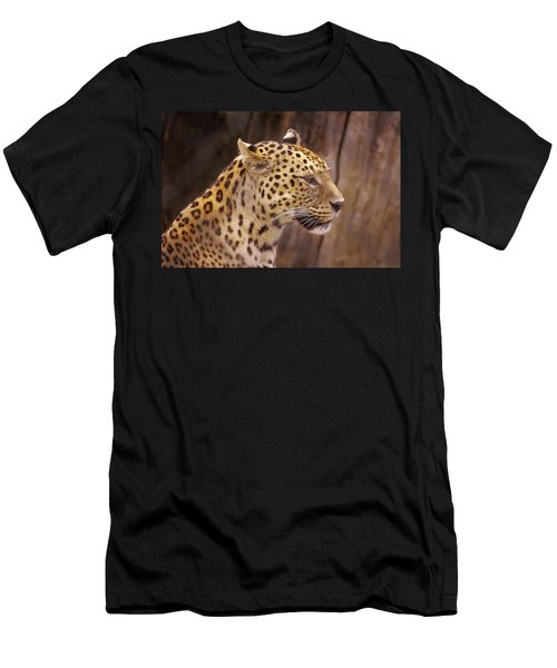 Leopard Men's T-Shirt (Athletic Fit)