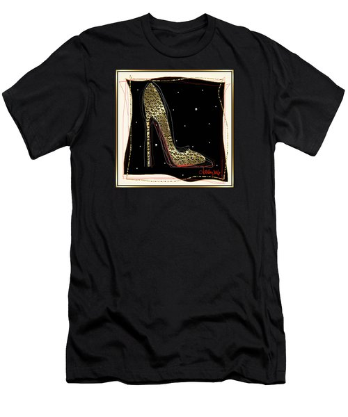 Leopard Louboutin Men's T-Shirt (Athletic Fit)