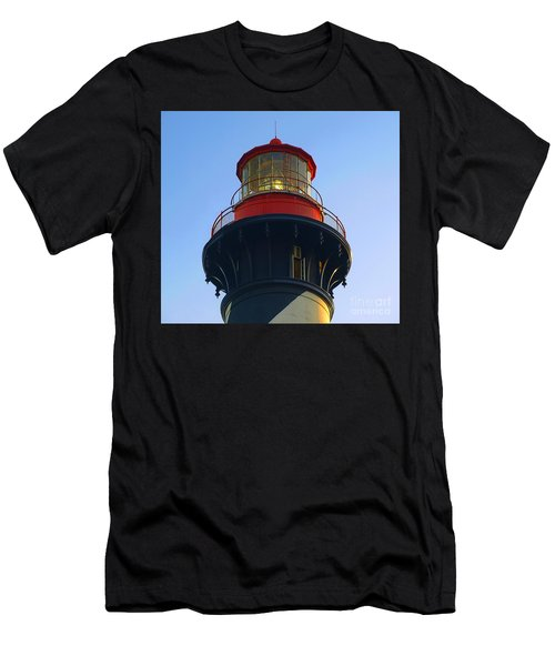 Lighthouse Men's T-Shirt (Slim Fit) by Raymond Earley