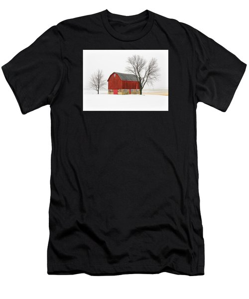Little Red Barn Men's T-Shirt (Athletic Fit)