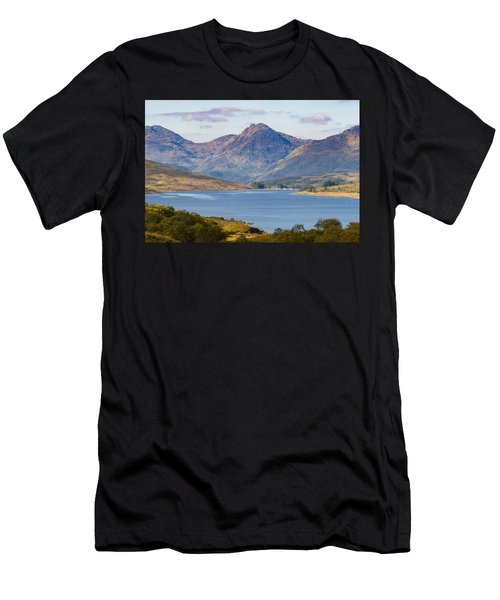 Loch Arklet And The Arrochar Alps Men's T-Shirt (Athletic Fit)