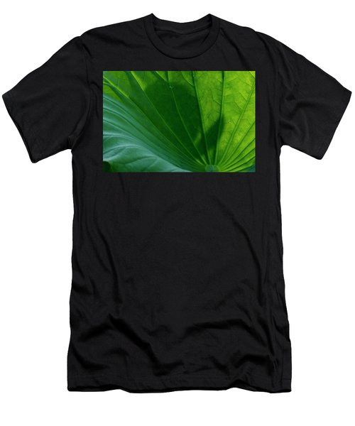 Men's T-Shirt (Athletic Fit) featuring the photograph Lotus Leaf 2017 3 by Buddy Scott