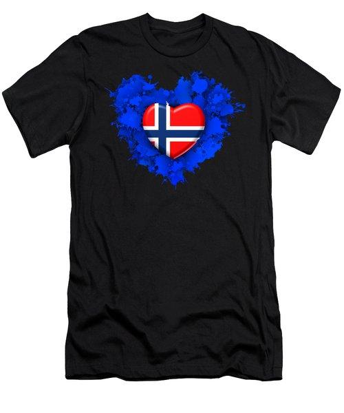Love Norway Men's T-Shirt (Athletic Fit)