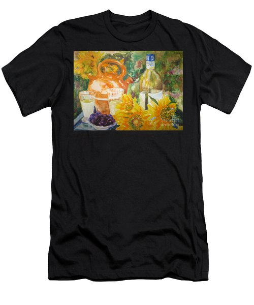 Lunch In Provence Men's T-Shirt (Athletic Fit)