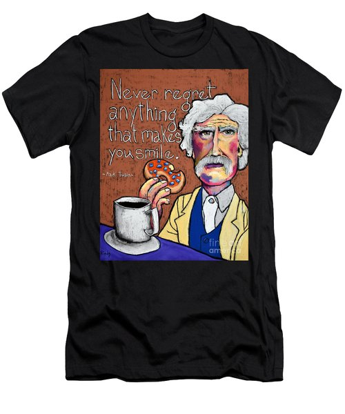 M. Twain  Men's T-Shirt (Athletic Fit)