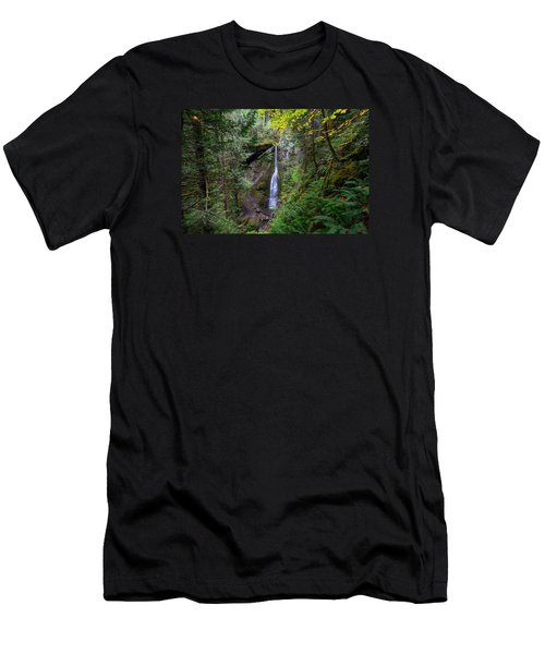Marymere Falls Men's T-Shirt (Athletic Fit)