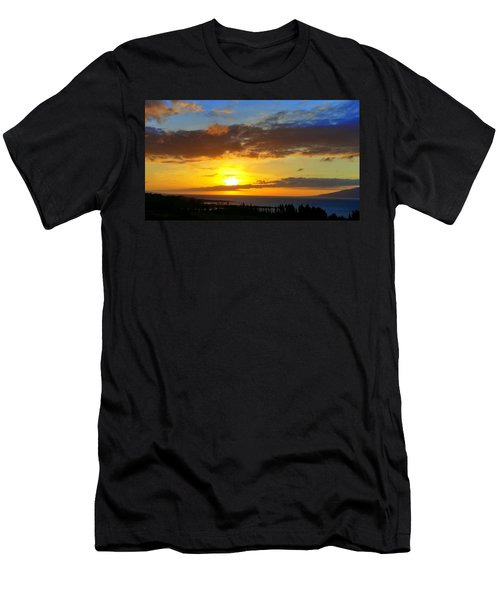Maui Sunset At The Plantation House Men's T-Shirt (Athletic Fit)